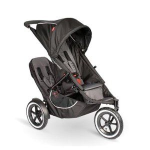 Phil Teds classic jogging stroller w double kit - $300 (Big Sandy)