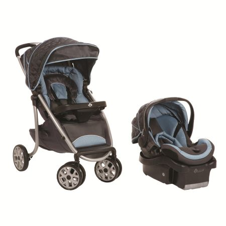 S1 by Safety 1st AeroLite Premiere Travel System Stroller - Pegasus - $120 (Nacogdoches, Texas)