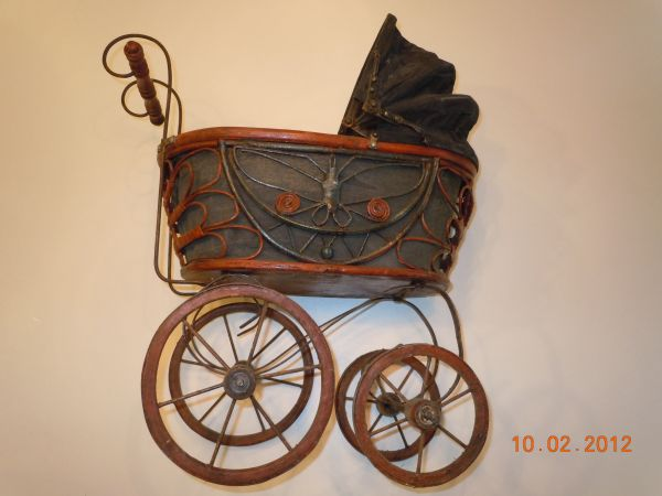 Vintage Antique Baby Doll Stroller - $145 (Tyler)