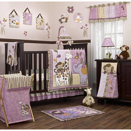 CoCaLo Jacana baby bedding and matching accessories - $85 (mabank or kilgore)