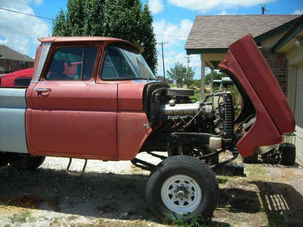 1962 62 Chevy 4x4 Custom SS BBC Pickup Truck - Big Mudder - - $12500 (75428)