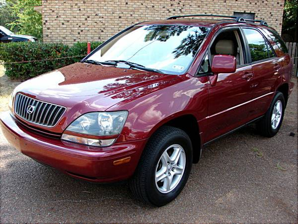 2000 RX300, 24 mpg, Nice, Sunroof, Leather, Local Car REDUCED - $7900 (Quitman TX)
