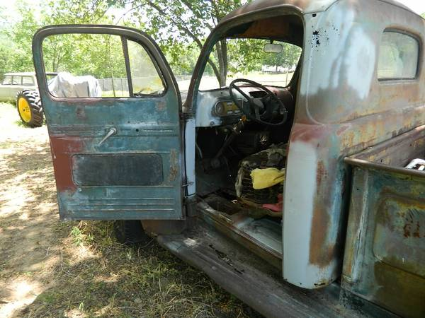 1950 FORD PICKUP TRUCK FOR SALE - $2000 (MONTALBA, TEXAS)