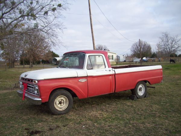 1966 Ford F100 Pickup - $2500 (Mabank, Texas)