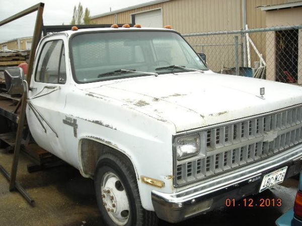 1982 FLATBED CHEVY - $2700