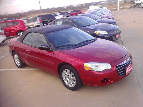 2004 Chrysler Sebring 2dr Convertible GTC GTC Automatic Red - $6995 (Greenville, TX)
