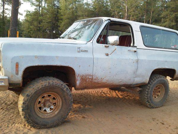 75 k5 chevy blazer 4x4 lifted - $2750 (mixon)