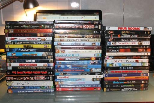 Large dvd lot real nice - $75 (Palestine)