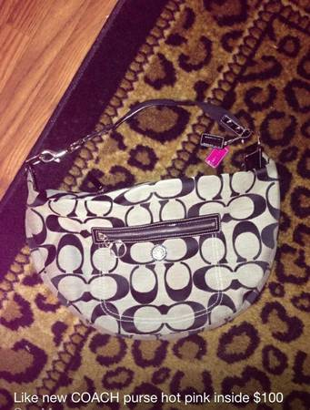 COACH purse bag like NEW condition authentic - $100