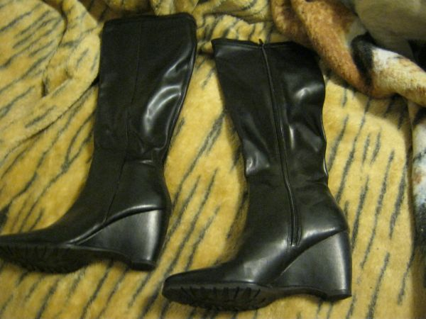 Zip up boots A.N.A - $15 (tyler)