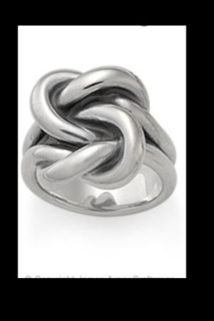 James Avery Bold Lovers Knot Ring - $90 (Tyler )