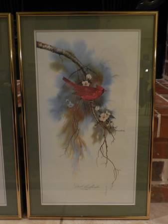 Limited Edition J  Buffington Bird Prints -   x0024 150