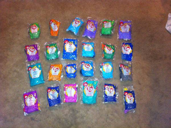 McDonalds Ty beanie babies in original package - x00245 (Quitman )