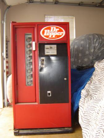 Dr Pepper machine -   x0024 350  Noonday