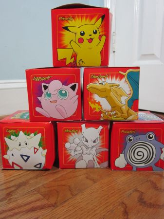 All 6 1999 Limited Edition Pokemon 23K Gold Plated Trading Cards - $50 (GilmerLongview)