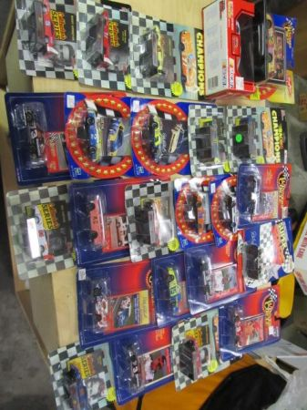 Large Collection of Diecast Nascar - $1 (Hideaway Lake)