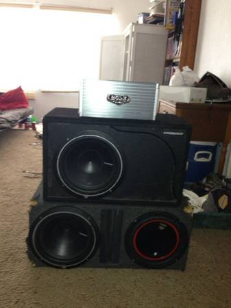 2 Rockford Fosgate 12 inch subs and 4000 watt - $350 (Sulphur springs )
