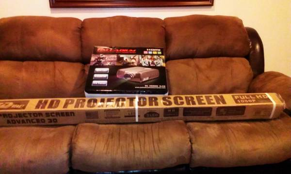 palladium Hd projectile screen - $3500 (Tyler tx)