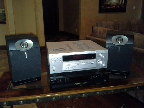Speakers, Receiver, Five Disc CD Player - $200 (Flint, TX)