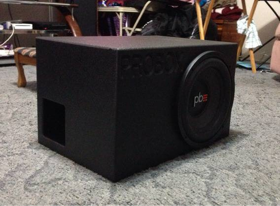 Probox armour coated sub box - $200 (Jacksonville)