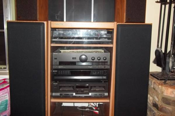 LIKE NEW CONDITION TECHNICS STEREO SYSTEM - $350 (TYLER TX)