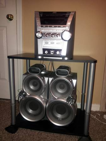 JVC home stereo system - $75 (Longview)