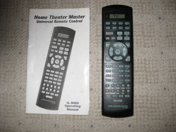 Home Theater Master Remote -   x0024 25  Malakoff