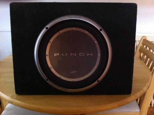 12 RF Punch and Amp - $150 (Tyler)