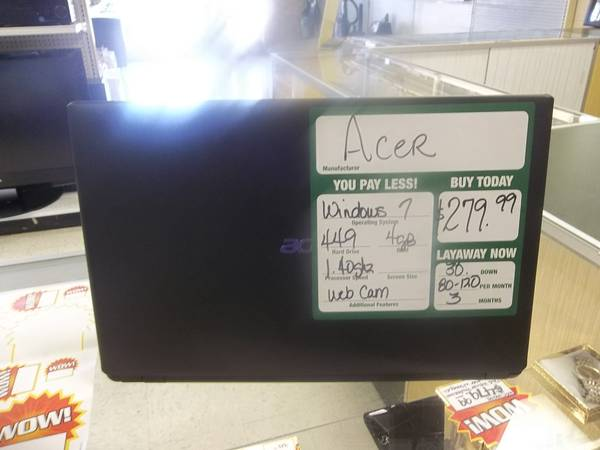 Acer Laptop  - $220 (tyler, texas)