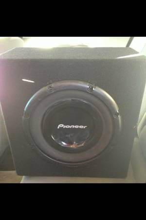 12 inch Pioneer sub and box - $80 (Canton)