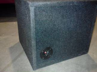 Treo SSI subwoofer in custom box plus - $320 (Tyler,tx )