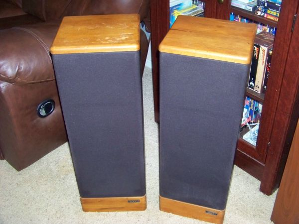 Advent Prodigy Tower Speakers - $100 (Tyler, TX)