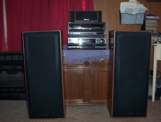 technics home stereo system - $150 (canton)