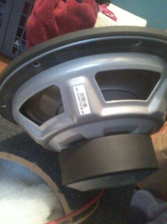 BRAND NEW 10in. JL Audio 10W1v2-4 sub with Box - $100 (Henderson)