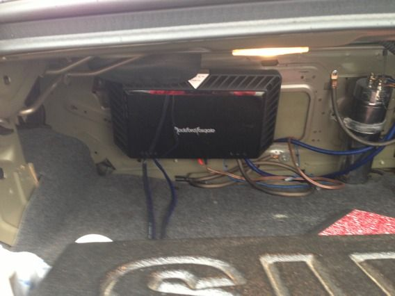 Like new fosgate power t1500.1 bd - $500 (Tyler)