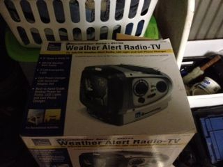 Vector Weather Alert Radio  TV - $80 (Van)