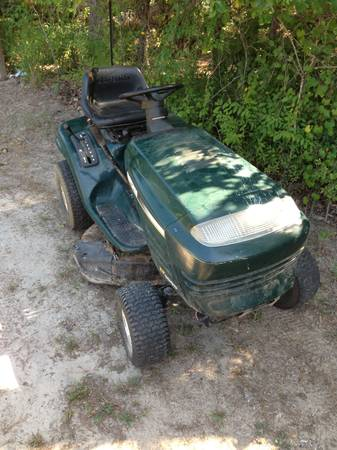 Craftsman riding mower parts or repair - $120 (Chapel Hill Tyler )