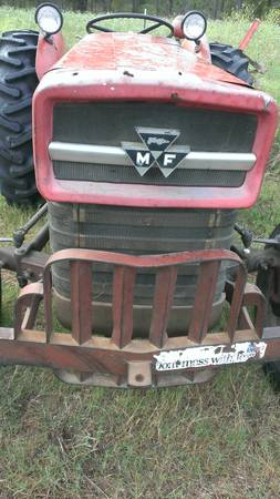 massey ferguson 135 diesel,bush hog,disc,more - $4975 (hughes springs tx)