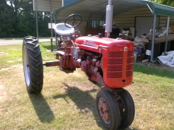 Farmall Super C Tractor (Quitman, Tx)