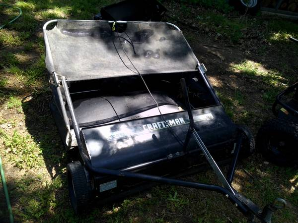 Craftsman 42 Lawn Sweeper - $150 (Cooper, TX)