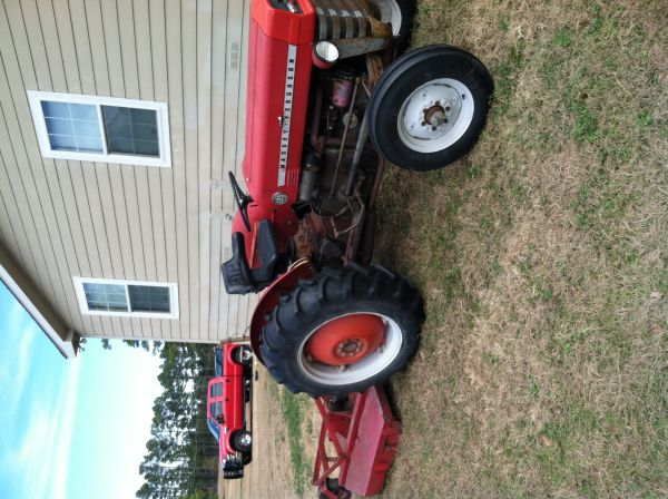 Massey Ferguson 135 and Bush Hog - $2800 (Longview)