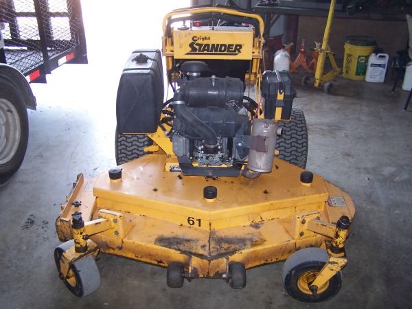 07 Wright Stander 61 mower - $2500 (Canton)