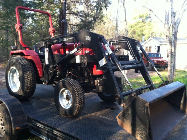 2005 Tractor King TK 200 With Koyker Front End Loader (Hughes Springs)