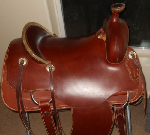 Reduced until sunday custom handmade ranch saddle - $1500 (kemp)