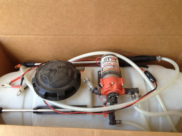 Northstar ATV Broadcast sprayer, 26 gallon, Almost NEW - $150 (Tyler)
