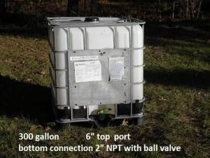 handy portable water tank - $75 (Tyler)