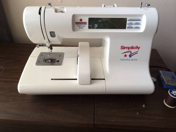 Embroider Monogramming machine   with extras   -   x0024 375