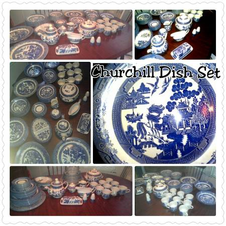Churchill China - $275 (flint )