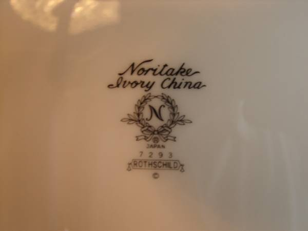 Noritake Ivory Rothschild 7923 China - $1200 (Mineola)