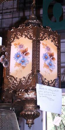 Gorgeous Vintage Hanging Swag Ceiling Light, Victorian Style - $200 (Tyler, Tx)
